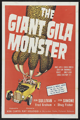 The Giant Gila Monster (1959, USA) movie poster