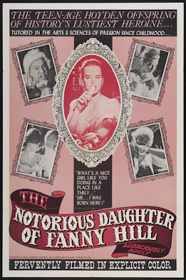 The Notorious Daughter of Fanny Hill (1966, USA) movie poster