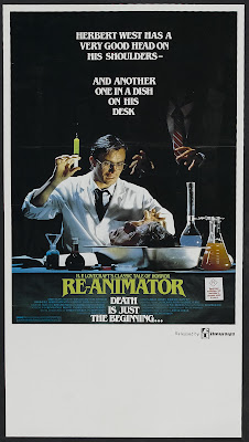 Re-Animator (1985, USA) movie poster