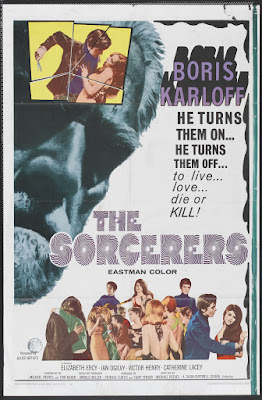 The Sorcerers (1967, UK) movie poster