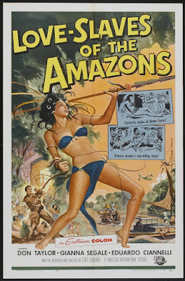 Love Slaves of the Amazons (1957, USA) movie poster