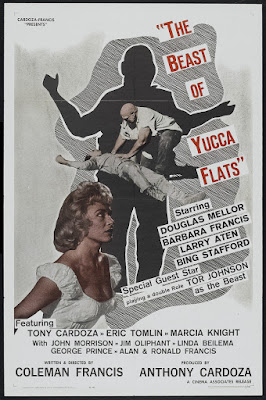 The Beast of Yucca Flats (1961, USA) movie poster