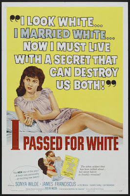 I Passed for White (1960, USA) movie poster