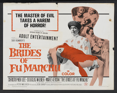 The Brides of Fu Manchu (1966, UK / Germany) movie poster