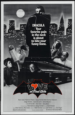 Love at First Bite (1979, USA) movie poster