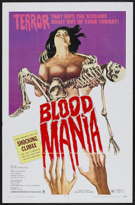 Blood Mania (1970, USA) movie poster