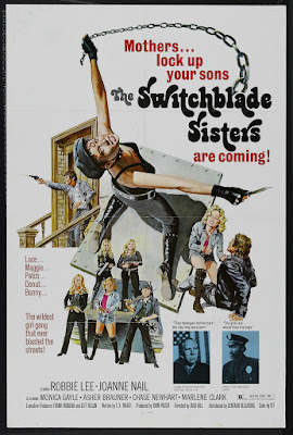 Switchblade Sisters (1975, USA) movie poster