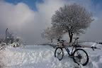 Départ de Grenoble à véloski (de fond) pour Florian