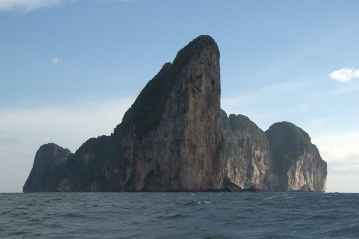 Island from afar