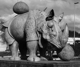Rinoceronte de Dalí