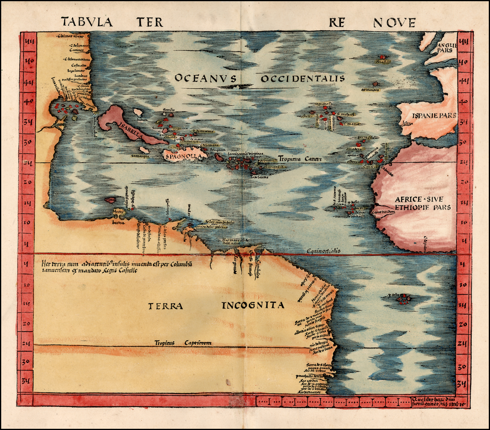 El mapa de Amrica Descubrimiento y exploracin  Valdeperrilloscom