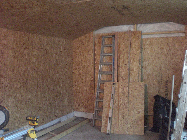 Internal OSB Cladding