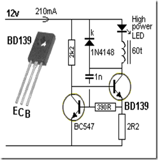 LED Circuits and projects blog: BUCK CONVERTER for HIGH