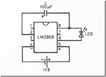 led circuits and projects blog  lm3909 led flasher