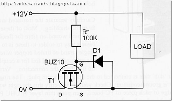 radio circuits blog  active reverse polarity protection