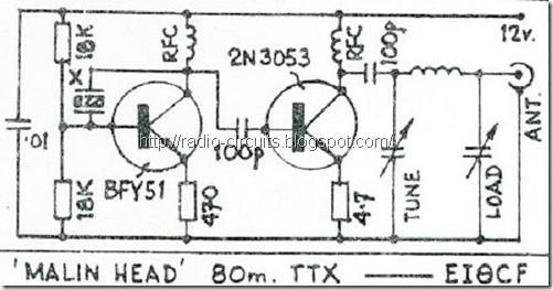 Radio Circuits Blog: Simple QRP Transmitter