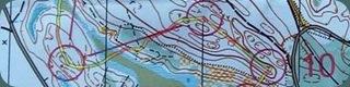 карта соревнований Rehns BK medel