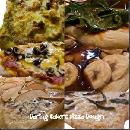 pizza collage text