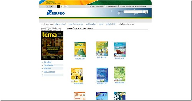 Serpro - Revista TEMA