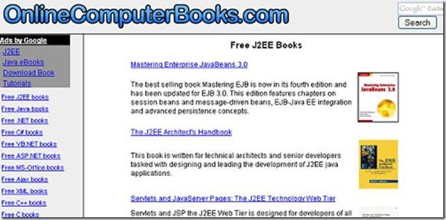 On Line Computer Books