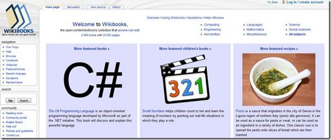Wiki Books