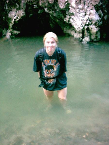 a fi in apa de munte