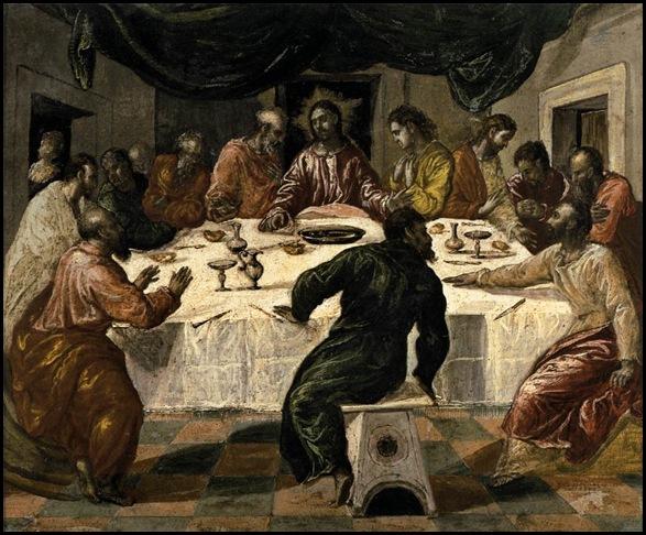 El Greco Ultima Cena1568