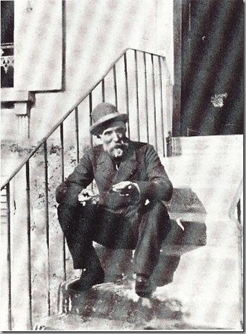 Renoir en 1893 en su casa-castillo de Brouillards