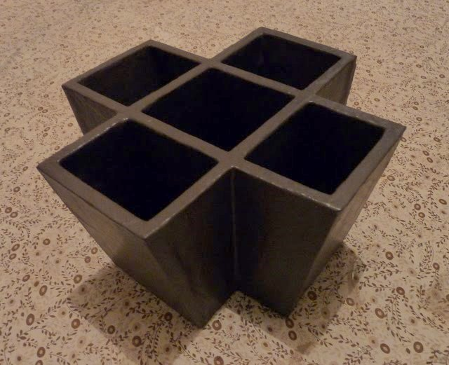 fait main par thecook pot crayons en carton. Black Bedroom Furniture Sets. Home Design Ideas