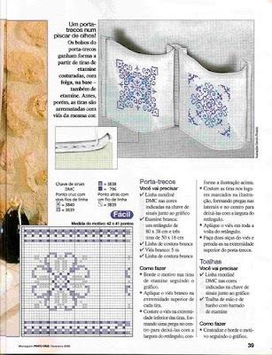 Juego de Baño en Azul - Paqueteria Revista0031