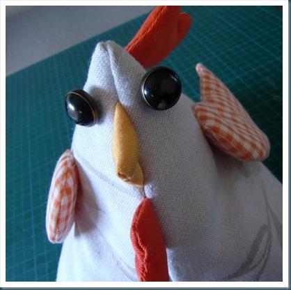 19g coser botones ojos