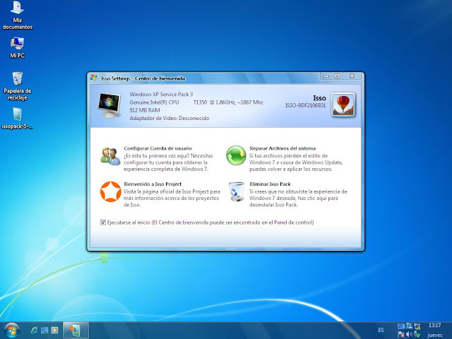 Transforma tu Windows XP con Iso pack 5.0 Triple Pack