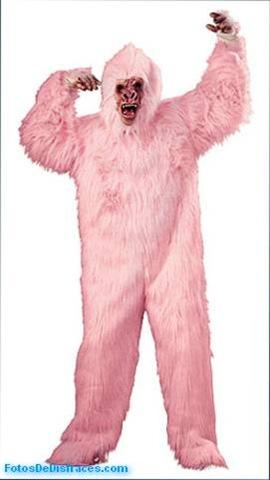 Disfraz-de-animales-gorila-rosa