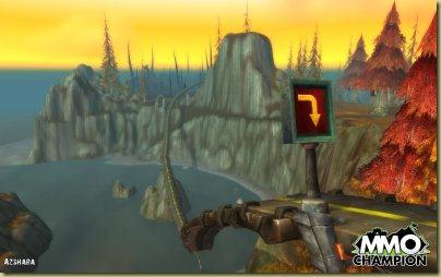 "To me, the pictures of Azshara and Kezan just scream ""Grand Theft Azeroth"" - or maybe Azeroth Kart Racing"