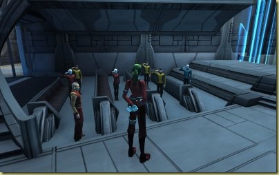 My promotion ceremony.  It's not quite up there with the end of Star Wars episode 4, but it'll do.