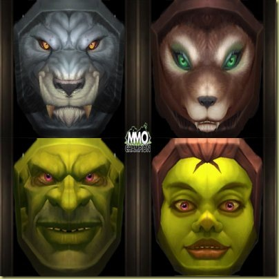 The original new masks.  Aren't they pretty?