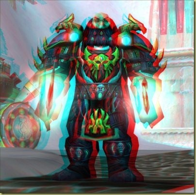 Blurry eye-hurting image best viewed with red-cyan 3d glasses.
