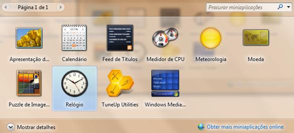 dicas para  Windows 7
