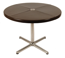 Plano table, brown