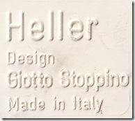White Heller label