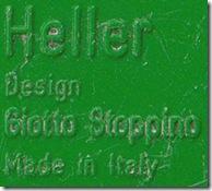 Green Heller label