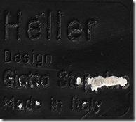 Black Heller label