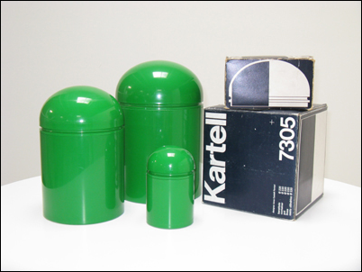 domed containers anna castelli ferrieri kartell italy 1973 object plastic. Black Bedroom Furniture Sets. Home Design Ideas