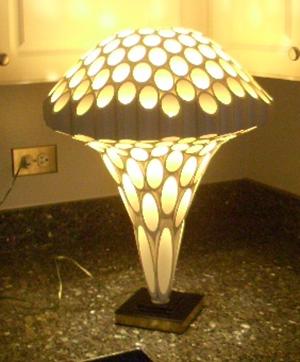 Mushroom Rougier lamp