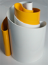 Deda vase white/yellow