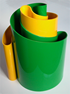 Deda vase green/yellow