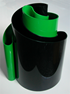 Deda vase black/green