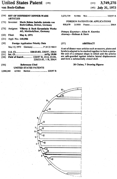 La Boule and La Bomba US Patent