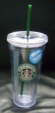 Starucks to-go cold cup