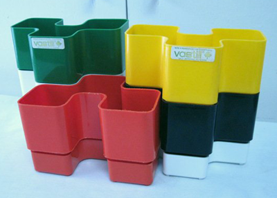 Vastill Domino planter collection